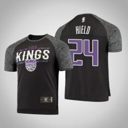 Sacramento Kings Buddy Hield & 24 Noches Shooting-Grau-T-Shirt - Männer