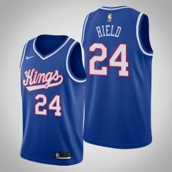 King 2019-20 Buddy Hield & 24 Blau Throwback Jersey