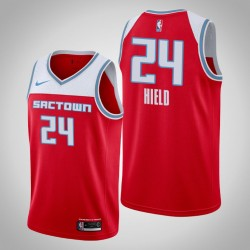 2019-20 King Buddy Hield & 24 Red City Jersey