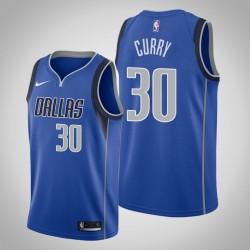 Männer Dallas Mavericks Seth Curry & 30 Blau Swingman Jersey - Icon