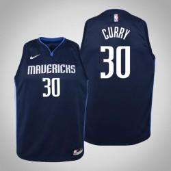 Jugend Seth Curry Dallas Mavericks und 30 Statement Navy 2020 Saison Jersey