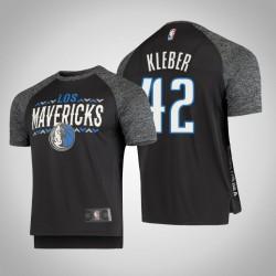 Mavericks Maxi Kleber # 42 Grey Noches Schießen Männer T-Shirt