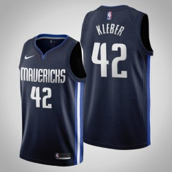 2019-20 Mavericks Maxi Kleber & 42 Navy Jersey - Erklärung