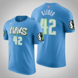 Dallas Mavericks und 42 Maxi Kleber City Blue 2020 Saison Name & Nummer T-Shirt