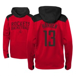 Jugend James Harden Houston Rockets # 13 Red Off The Court Hoodie