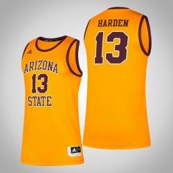 NCAA James Harden Arizona State Sun Devil & 13 Gold Alumni Klassisches Jersey