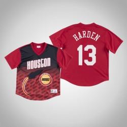Houston Rockets James Harden & 13 Red Spiel gewinnen Schuss T-Shirt