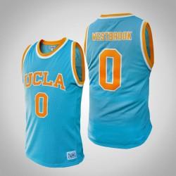 NCAA Russell Westbrook UCLA Bruins # 0 Blau Alumni Basketball Trikot