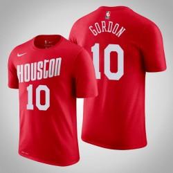 Houston Rockets & 10 Eric Gordon Holz Classics Red 2020 Saison Name & Nummer T-Shirt