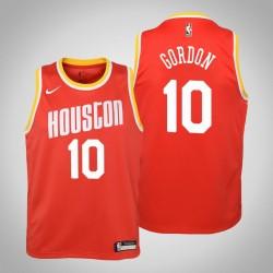 Jugend Eric Gordon Houston Rockets & 10 Holz Classics Red 2020 Jahreszeit Jersey