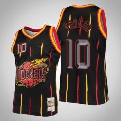 Rockets Eric Gordon & 10 Black Ring-Sammlung Swingman Mitchell & Ness Jersey