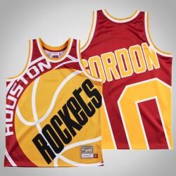 Männer Rockets Eric Gordon & 10 Red Big Gesicht Swingman Mitchell & Ness HWC Jersey