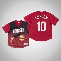 Houston Rockets Eric Gordon & 10 Red Spiel gewinnen Schuss T-Shirt
