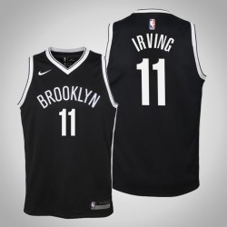 Jugend Kyrie Irving Brooklyn Nets & 11 Icon Schwarz Jersey