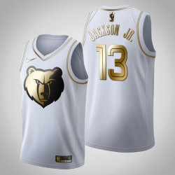 Memphis Grizzlies Jaren Jackson Jr. & 13 Golden Edition Weiß Jersey