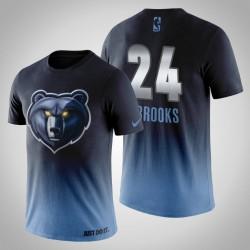 Männer Memphis Grizzlies Dillon Brooks & 24 Mitternachts Mascot königliche T-Shirt