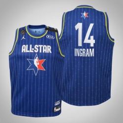 Jugend New Orleans Pelicans Brandon Ingram & 14 Blue 2020 NBA All-Star Game Jersey