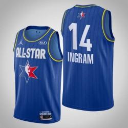 New Orleans Pelicans Brandon Ingram & 14 2020 NBA All-Star Game Reserves Blau Jersey