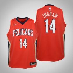 Jugend Brandon Ingram New Orleans Pelicans & 14 Statement Red Jersey