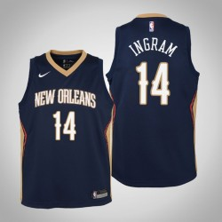 Jugend Brandon Ingram New Orleans Pelicans & 14 Icon Navy Jersey
