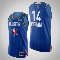 Pelicans Brandon Ingram & 14 2020 NBA All-Star Game Authentic Blau Jersey