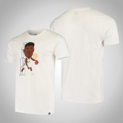 Pelicans Zion Williamson & 1-Spieler-grafische Bobblehead Weißes T-Shirt