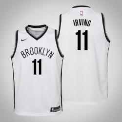 Jugend Kyrie Irving Brooklyn Nets & 11 Verband Weiß Jersey