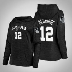Frauen Spurs LaMarcus Aldridge Schwarz 2020 Jahreszeit Showtime Geschehen besser PulloverHoodie