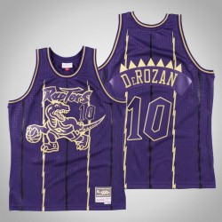 Toronto Raptors DeMar DeRozan & 10 Lila 2020 CNY Swingman Mitchell & Ness Throwback Jersey