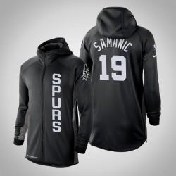 Herren Spurs Luka Šamanić & 19 verdient Schwarz 2020 Saison Showtime Hoodie