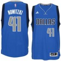 Dirk Nowitzki Dallas Mavericks und 41 2014-15 New Swingman Straße Royal Blue Trikot