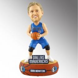 NBA Dallas Mavericks und 41 Dirk Nowitzki Blau Baller Künstler Bobblehead Collectibles 2017-18 Jersey Ausgabe