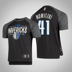 Mavericks Dirk Nowitzki & 41 Grau Noches Schießen Männer T-Shirt