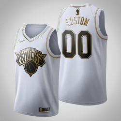 New York Knicks Personalisieren Golden Edition Weiß Trikot