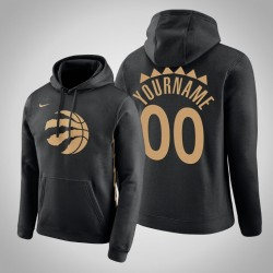 Toronto Raptors Personalisieren City schwarz 2020 Saison Pullover Hoodie
