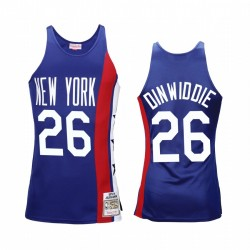 Spencer Dinwiddie & 26 Brooklyn Nets Königs 1975 Holz Classics Trikot