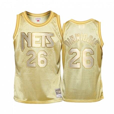 Spencer Dinwiddie & 26 Brooklyn Nets Goldener Midas SM Trikot