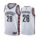 Spencer Dinwiddie Brooklyn Nets Weiß City Ausgabe Trikot