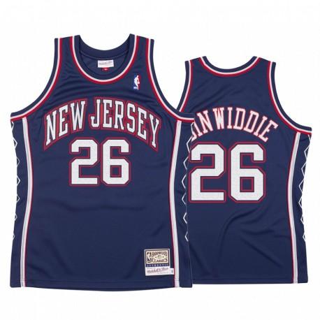 Brooklyn Nets Spencer Dinwiddie & 26 Holz Classics Authentic Trikot Männer