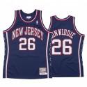 Brooklyn Nets Spencer Dinwiddie # 26 Holz Classics Authentic Trikot Männer