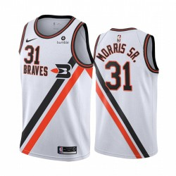 Marcus Morris Sr. Los Angeles Clippers Weiß City & 31 Trikot