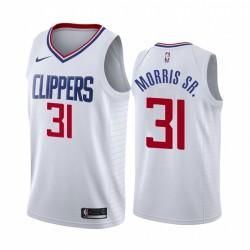 Marcus Morris Sr. Los Angeles Clippers Weiß Verein & 31 Trikot