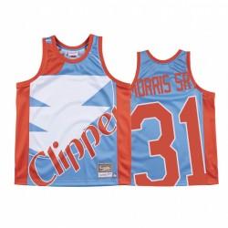 Marcus Morris Sr. Los Angeles Clippers Holz Classics Blau Big Face & 31 Trikot
