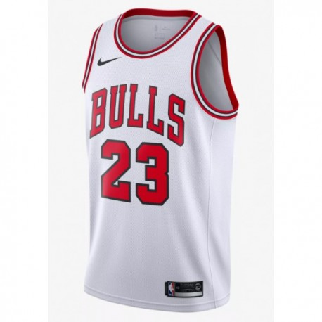 Nike: Authentisches Trikot der Michael Jordan Weiß Icon Edition (Chicago Bulls)