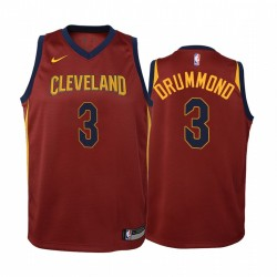 Andre Drummond Cleveland Cavaliers Icon Youth Trikot - Wein