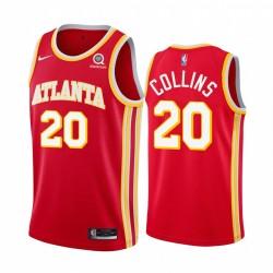 John Collins Atlanta Hawks Red Icon Edition 2020-21 Trikot