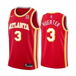 Kevin Huerter Atlanta Hawks Rot Icon Edition 2020-21 Trikot