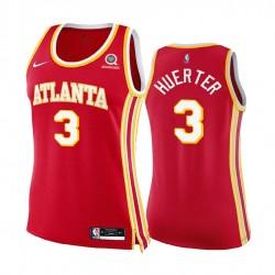 Kevin Huerter Atlanta Hawks Rot Icon Edition Frauen 2020-21 Trikot