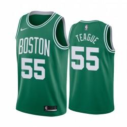 Jeff Teague Boston Celtics 2020-21 Grüne Icon Trikot 2020 Handel