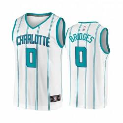 Miles Bridges Charlotte Hornets Weiß Association Replica 2020-21 Trikot